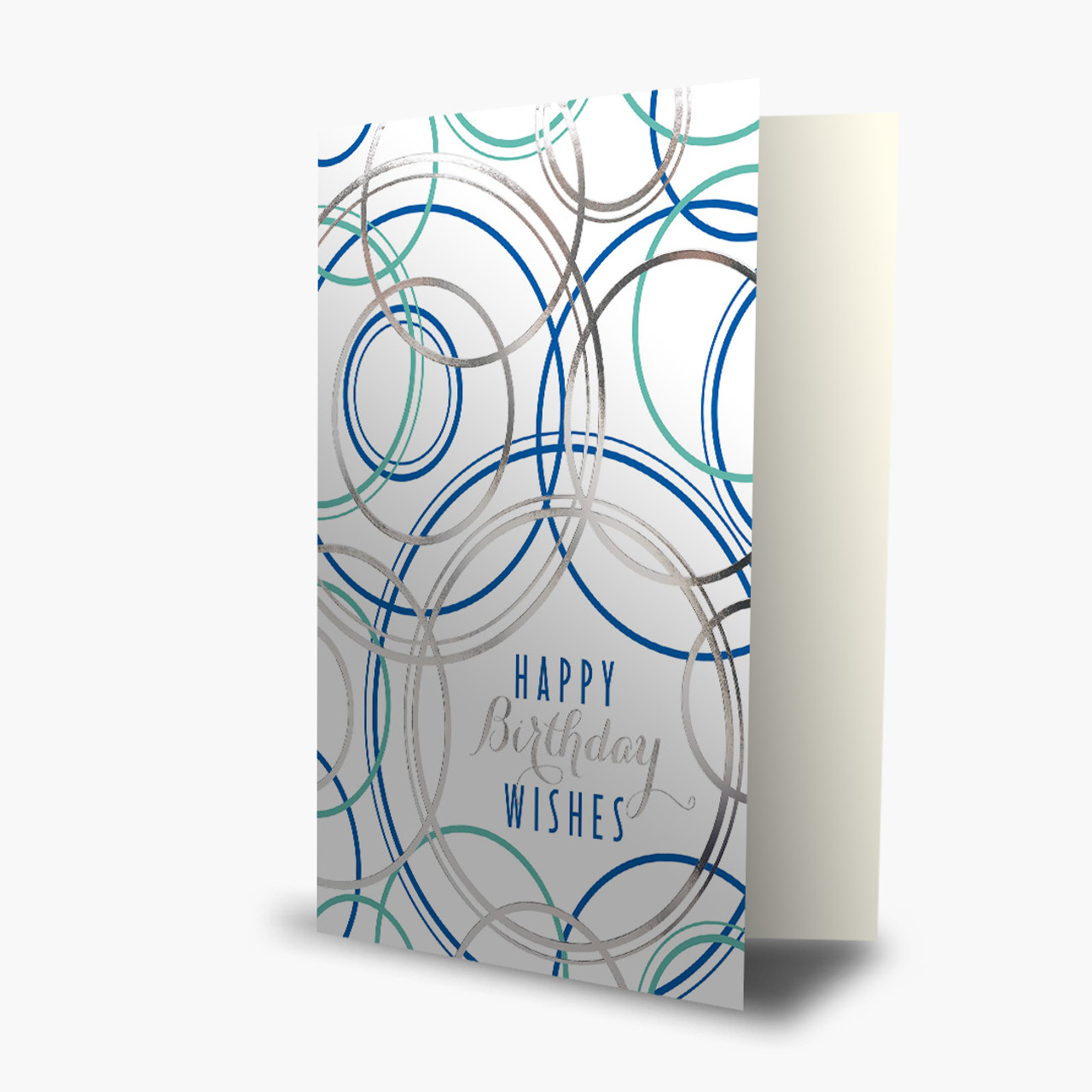 Geometric Birthday Wishes Card