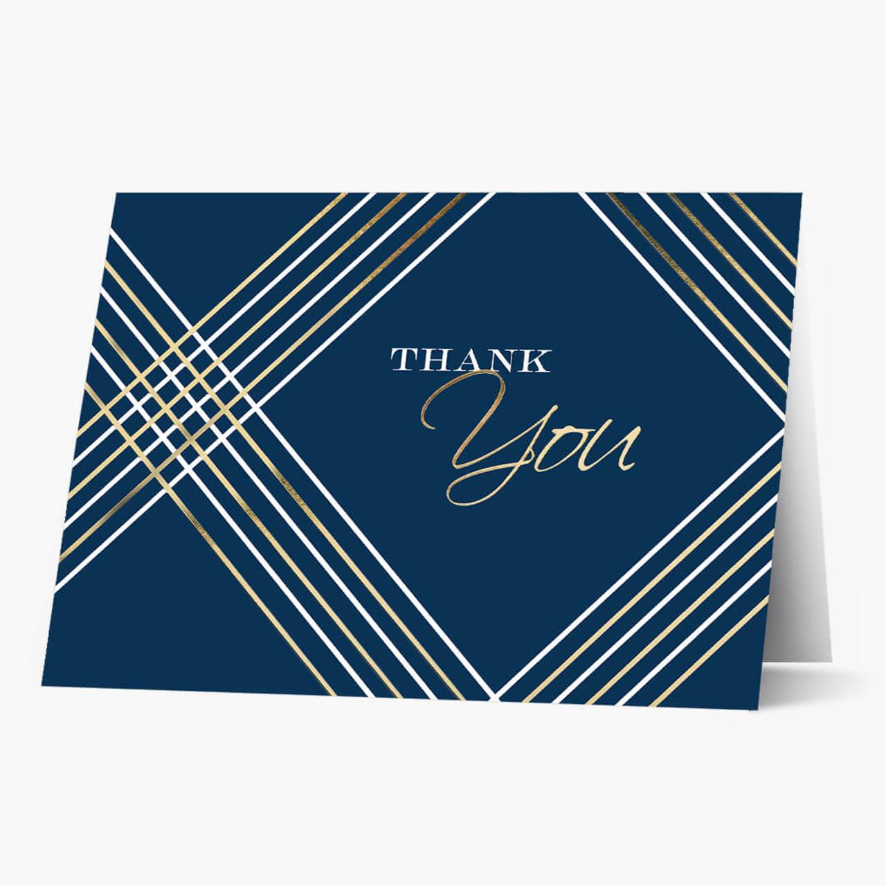 Thank You Geometric Card