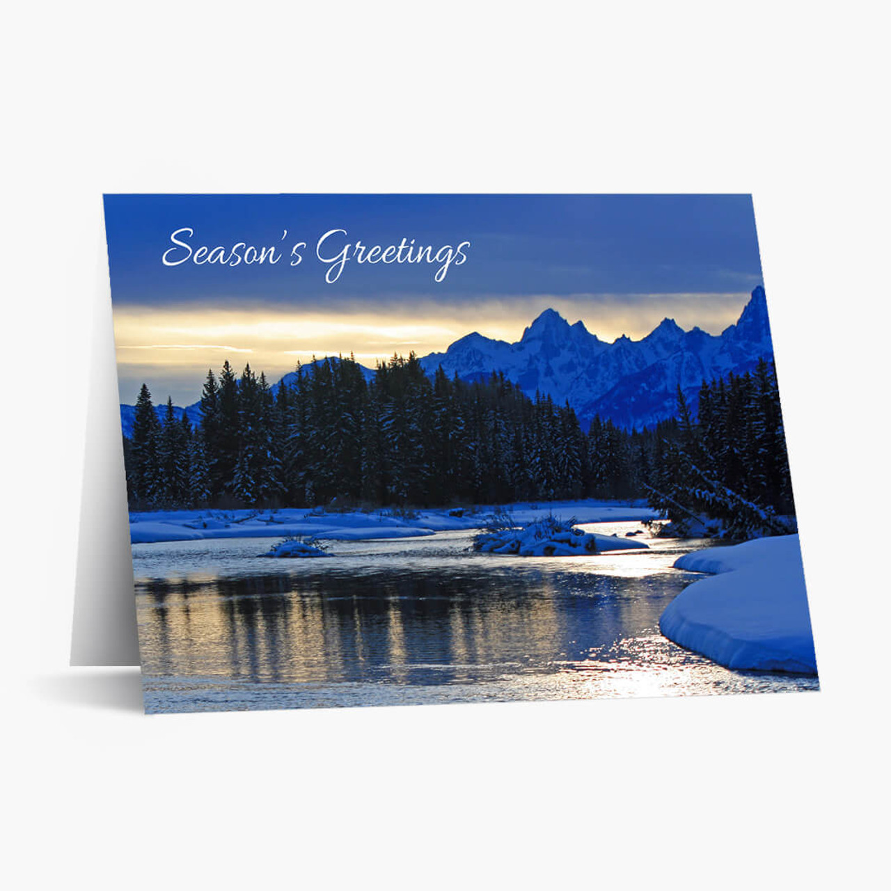 Mountain Beauty Christmas Card