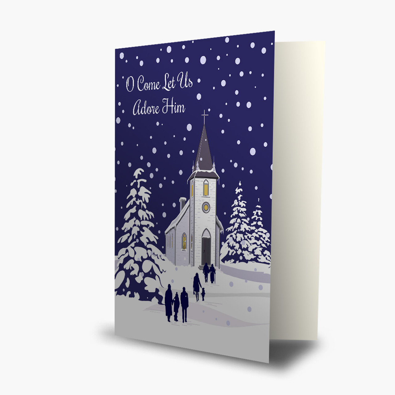 Christmas Service Card
