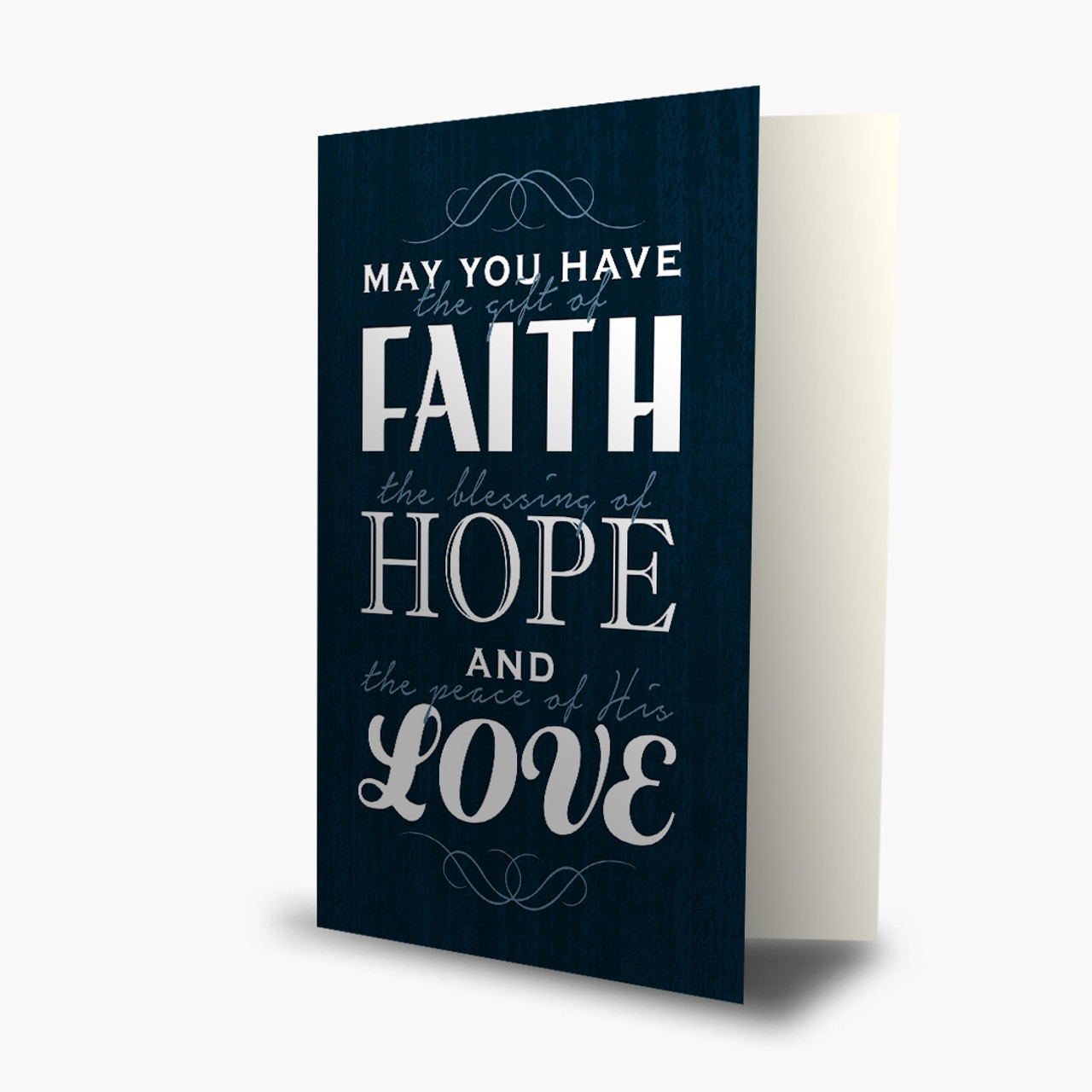 Gift Of Faith Christmas Card