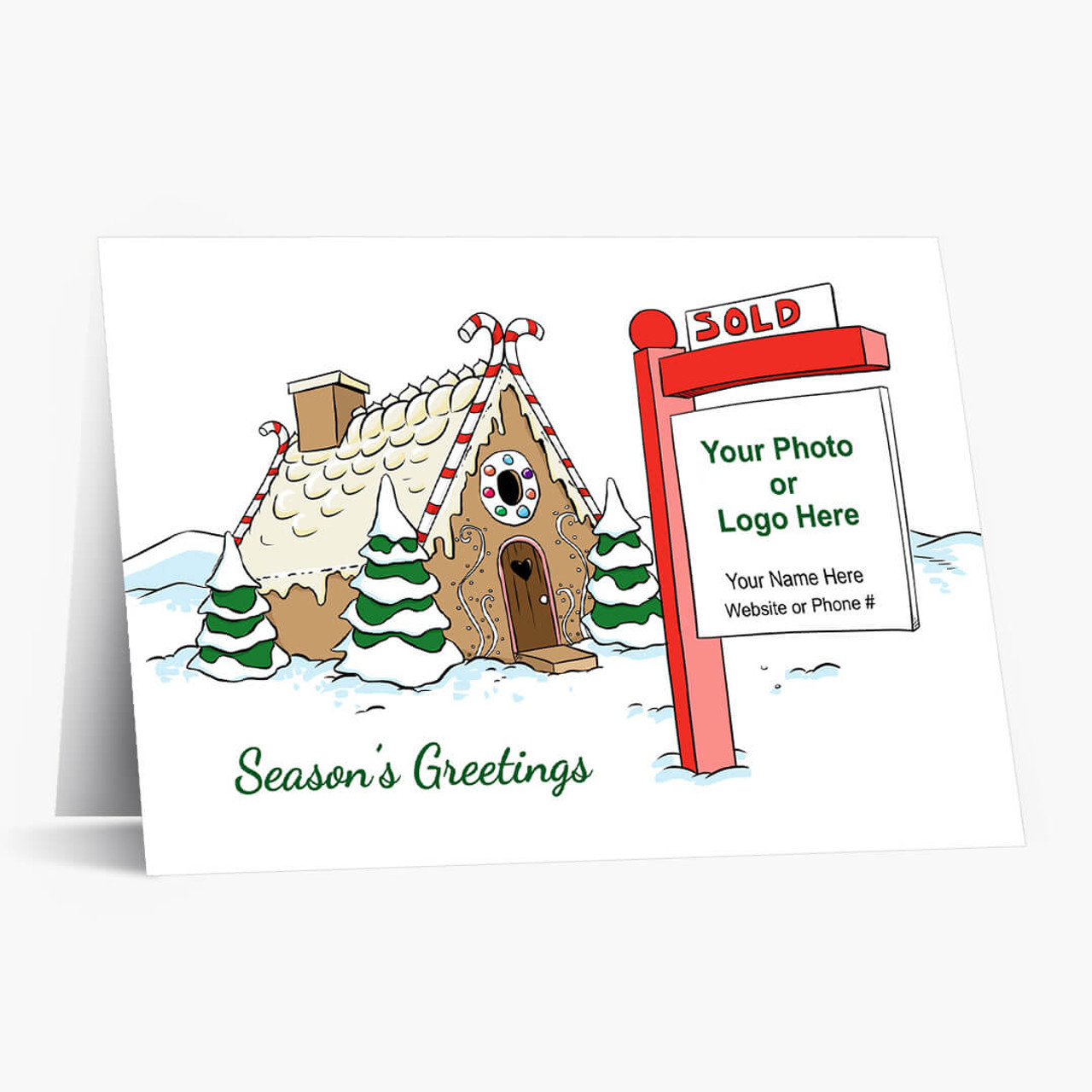 Real Estate Magic Christmas Card