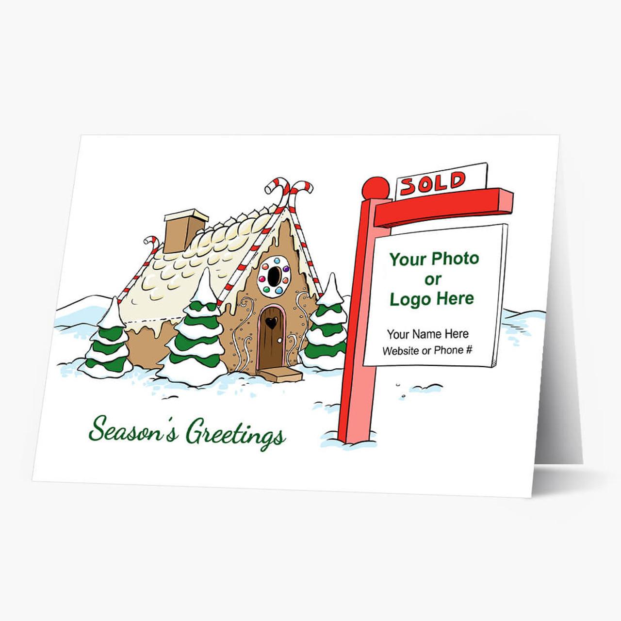 Real Estate Magic Christmas Card