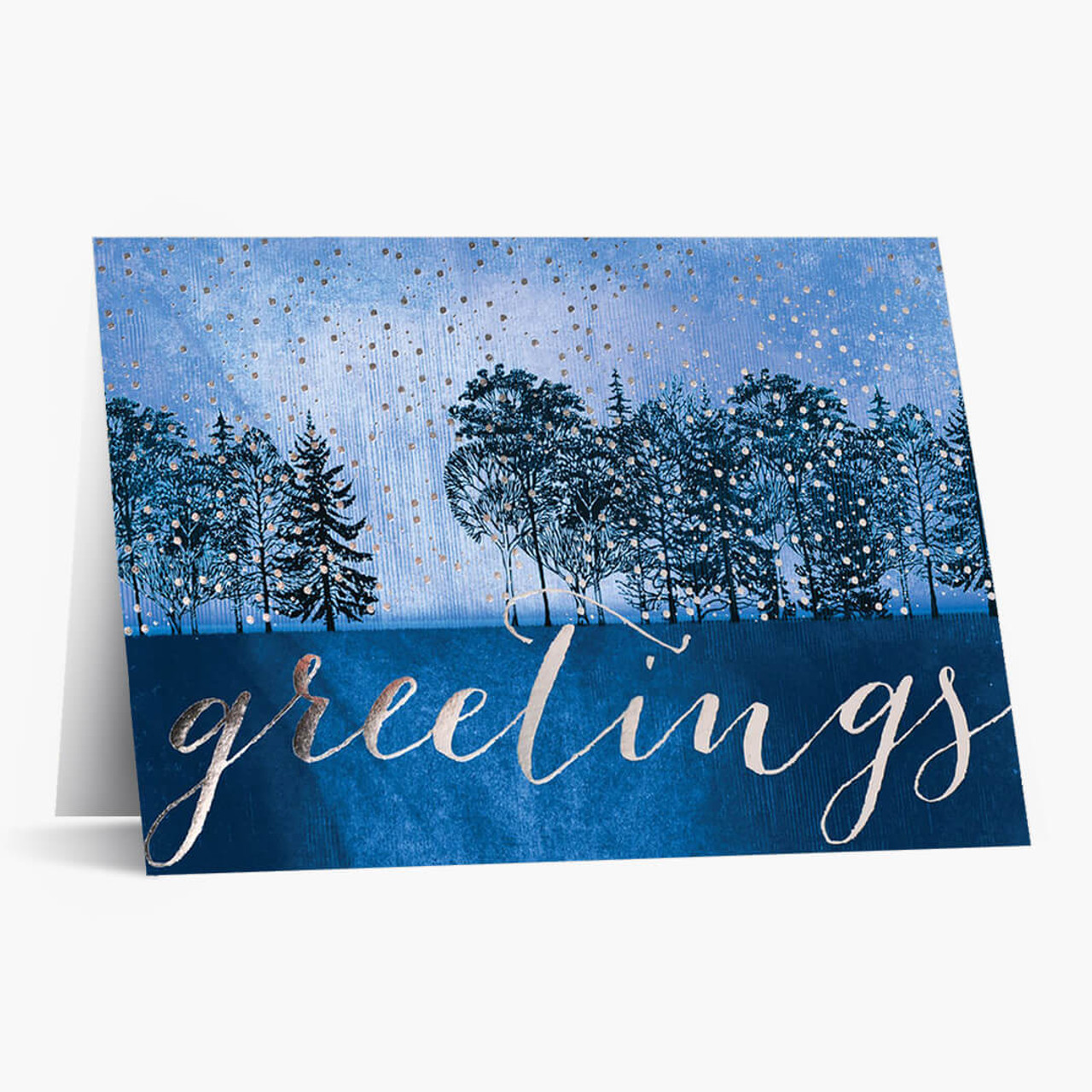 Tranquil Evening Christmas Card
