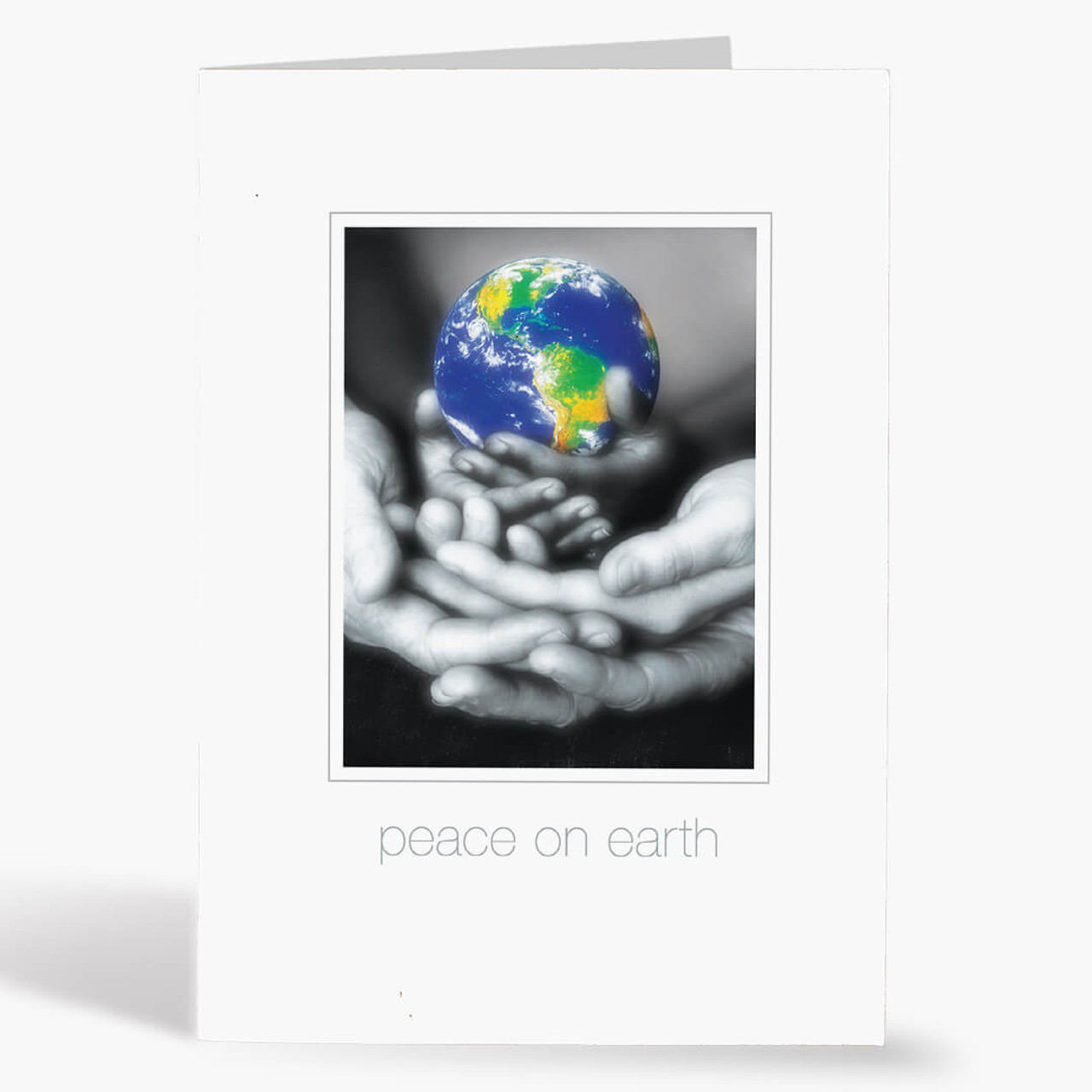 Peaceful Wishes Christmas Card