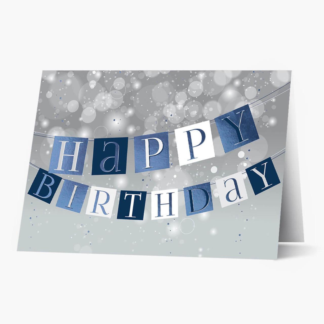 A Banner Birthday Card