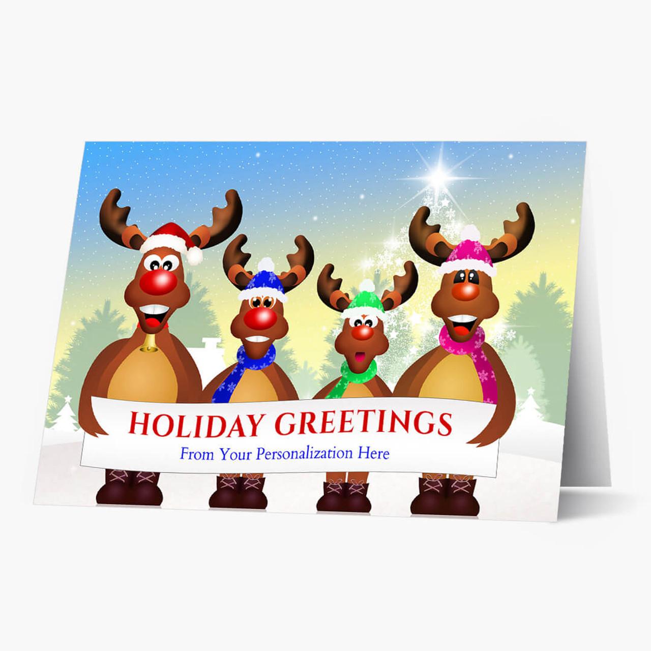 Group Greetings Christmas Card