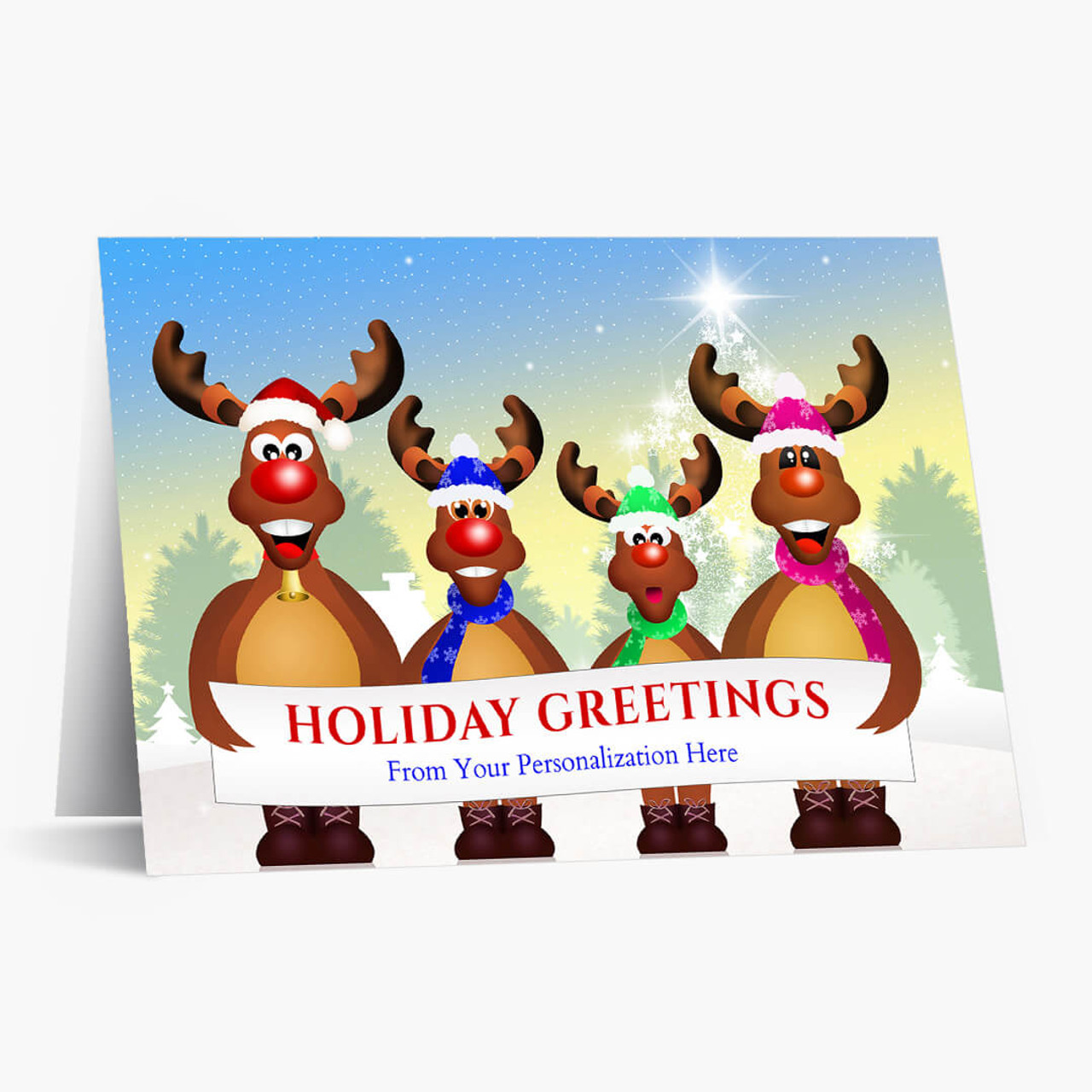 Group Greetings Christmas Card