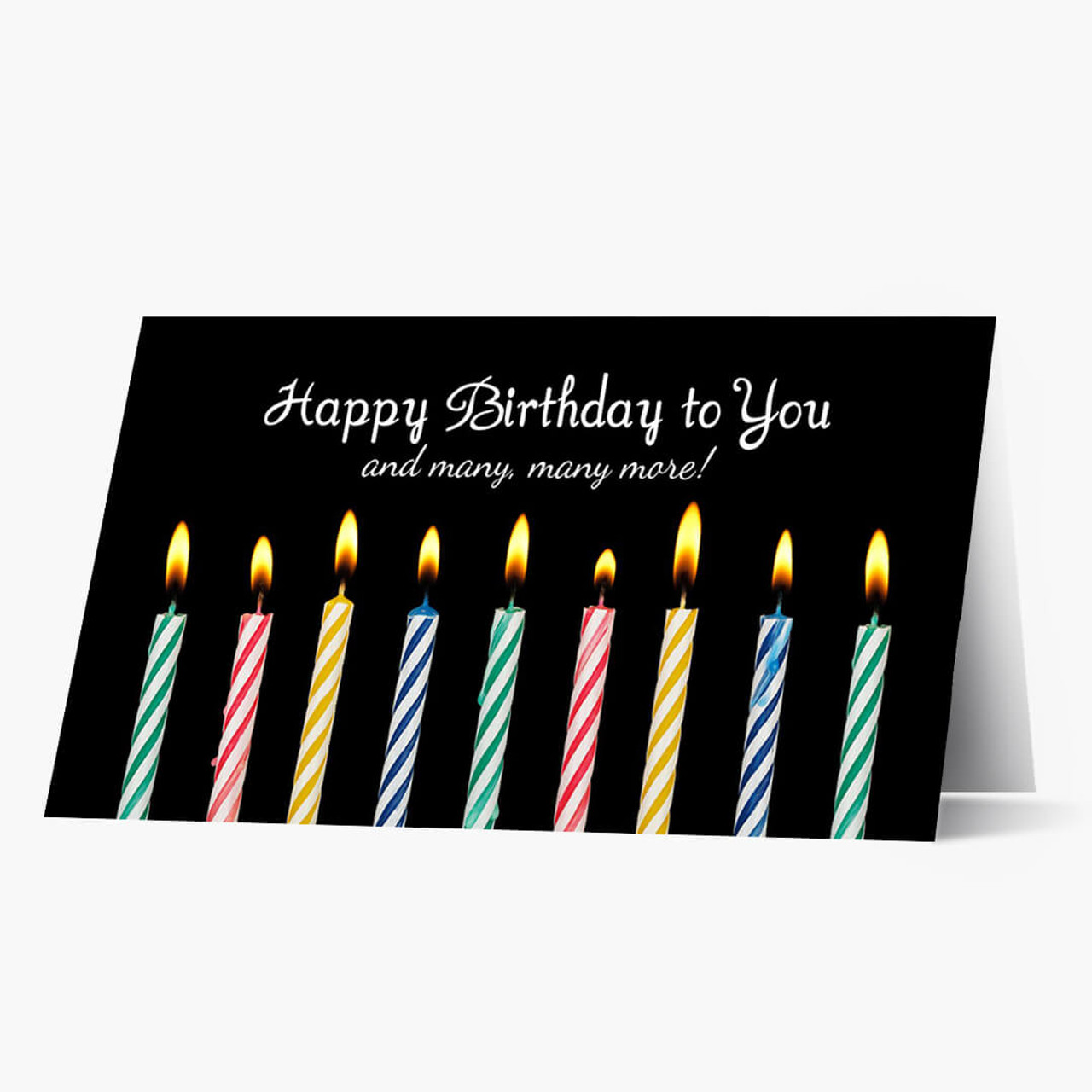 Candle Wishes Birthday Card