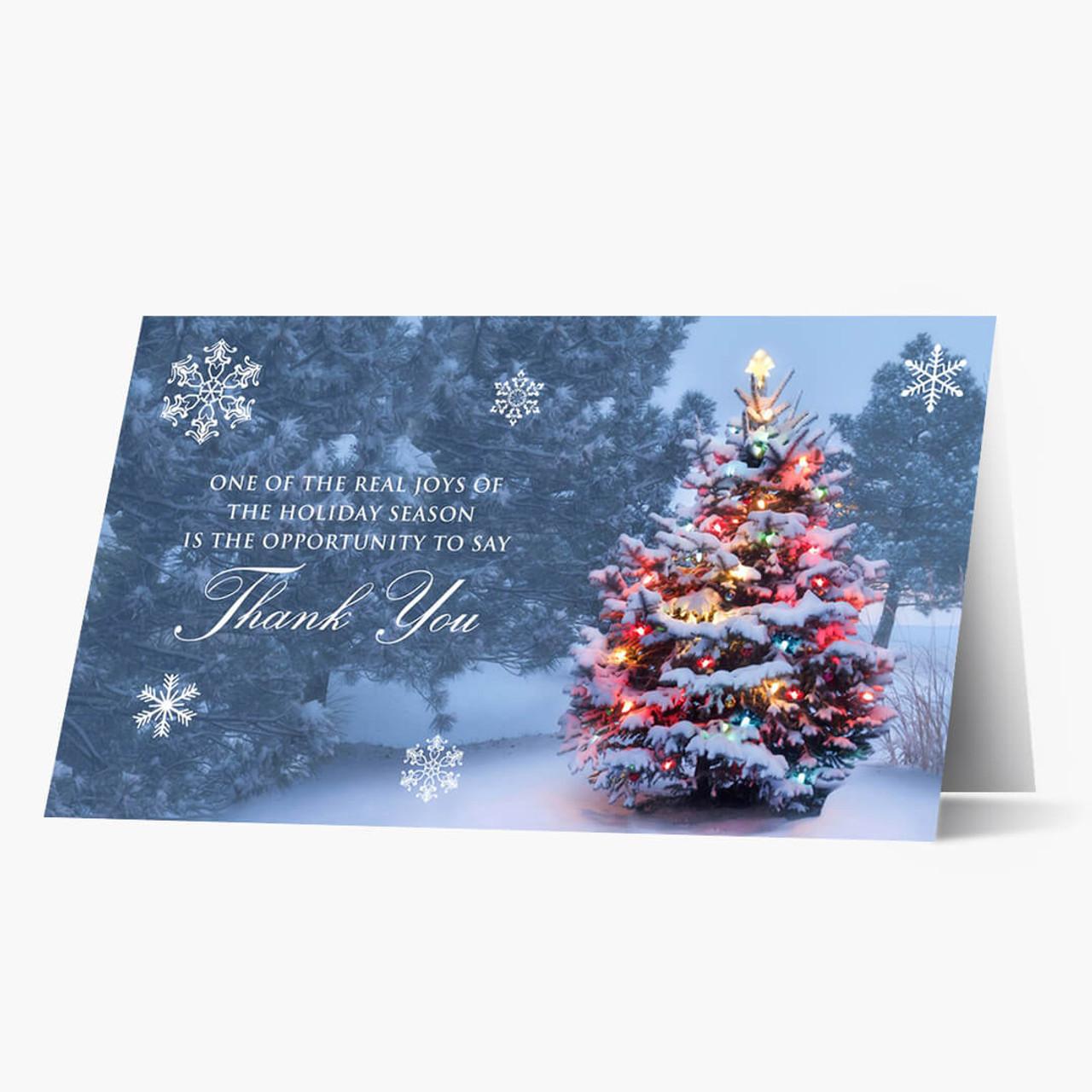 Grateful Glow Christmas Card