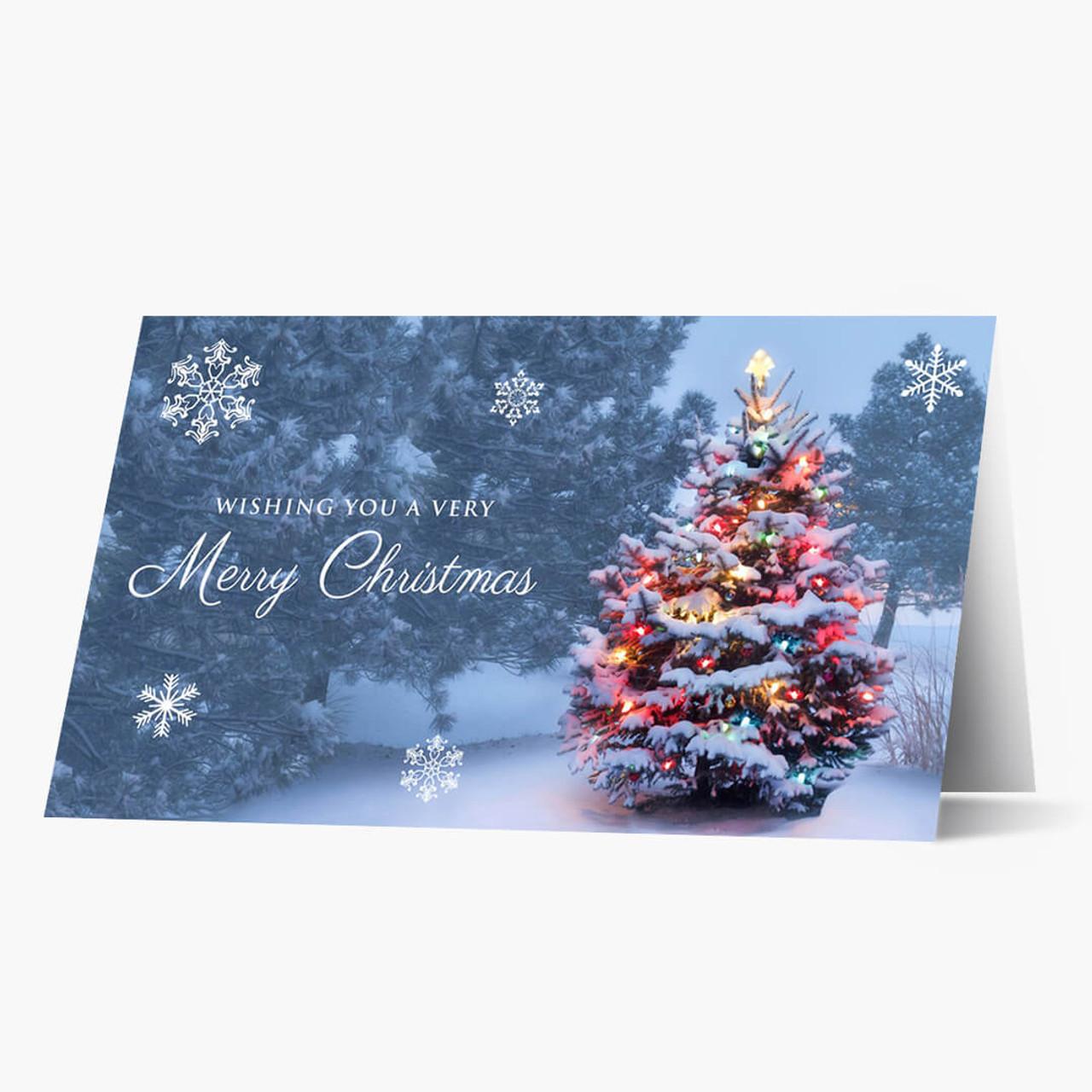Christmas Glow Christmas Card