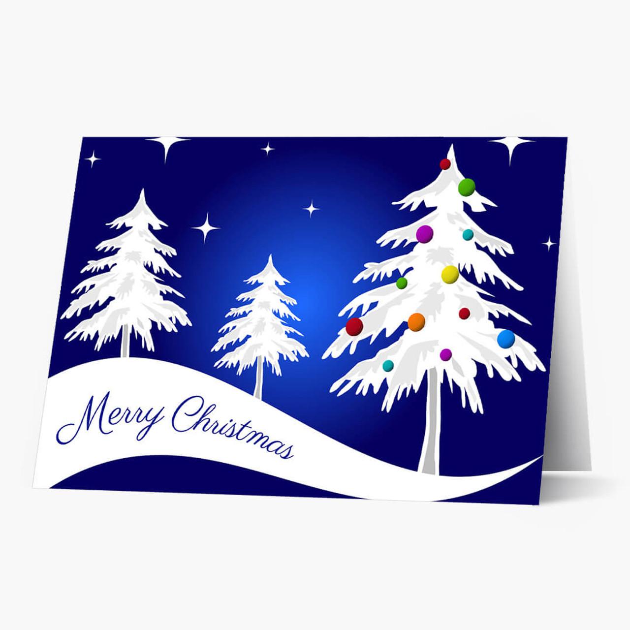 Evening Beauty Christmas Card