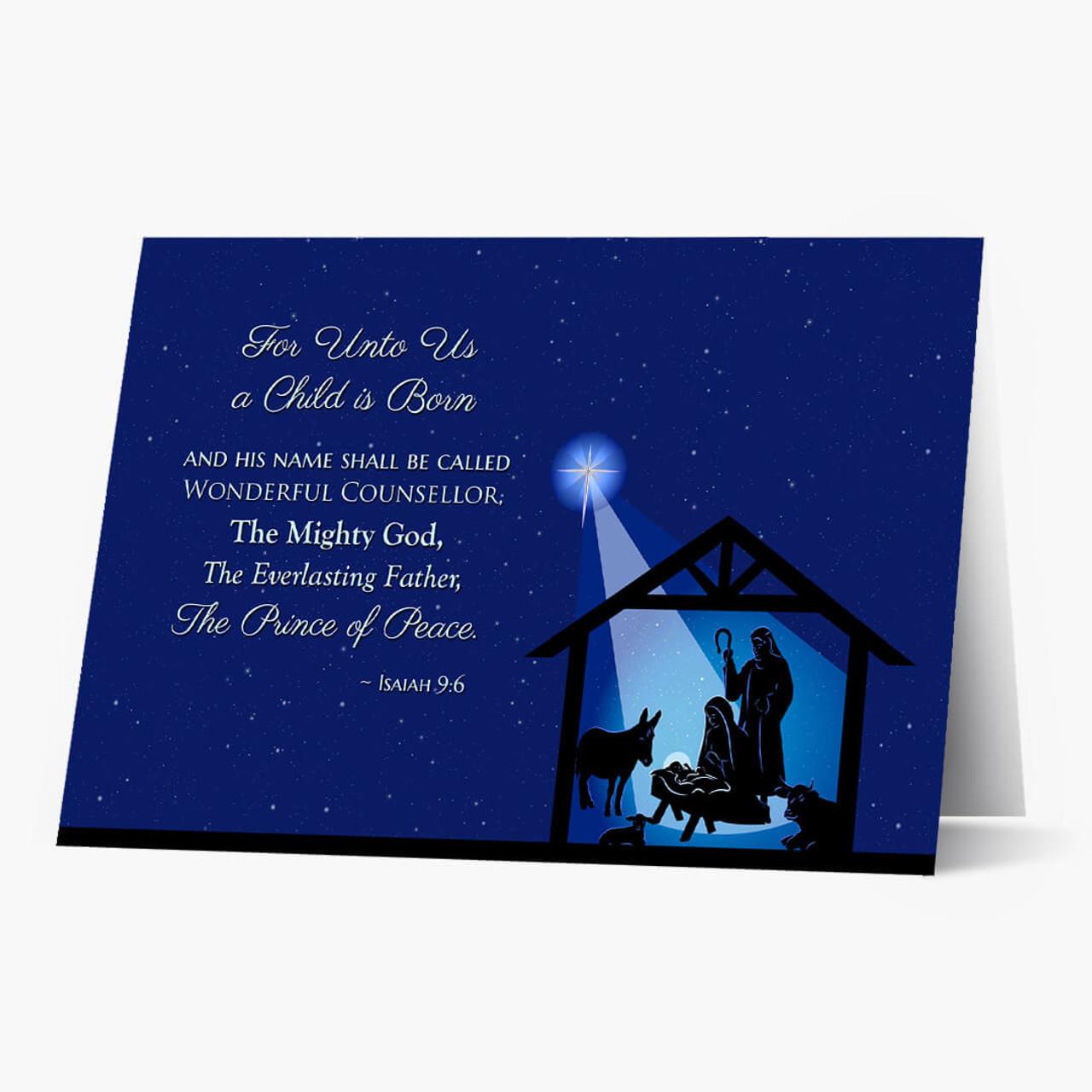 Everlasting Father Christmas Card