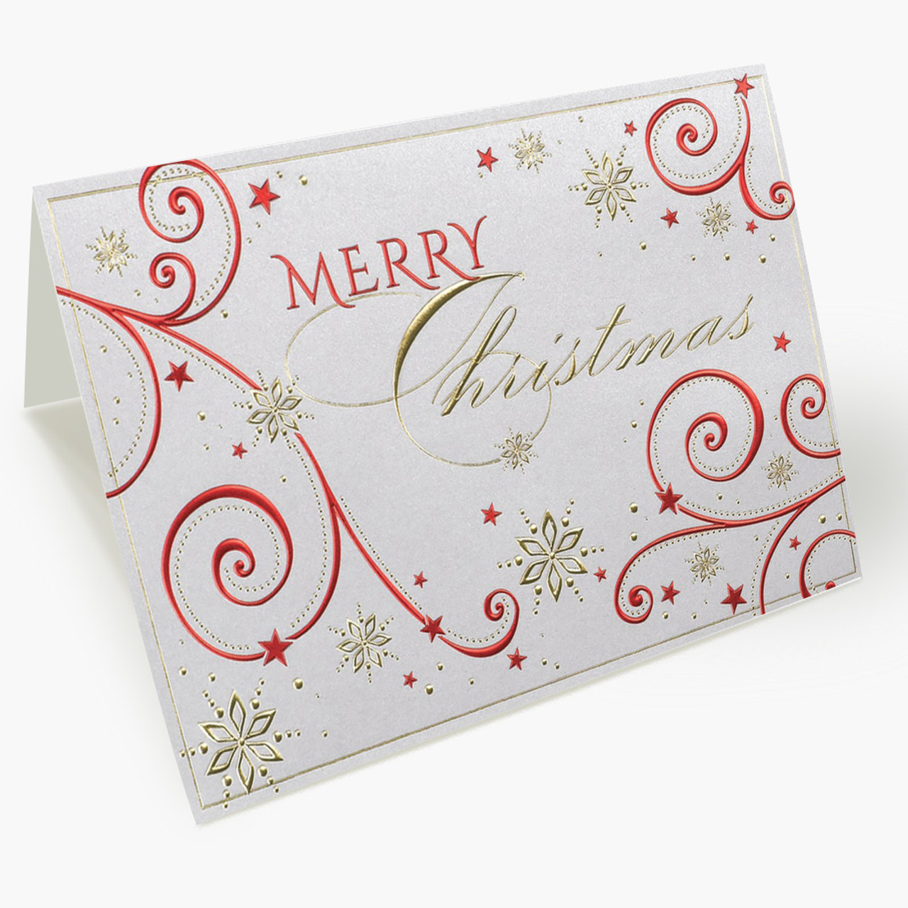 Decorated Christmas Card