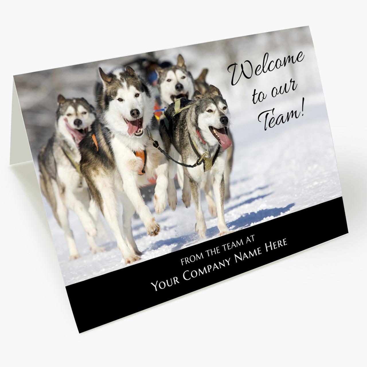 Welcome Team Card