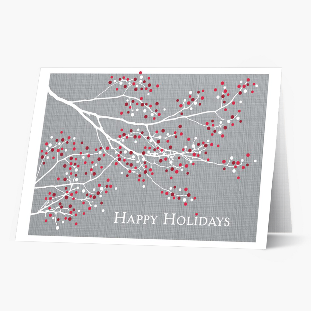 Pop Of Color Christmas Card