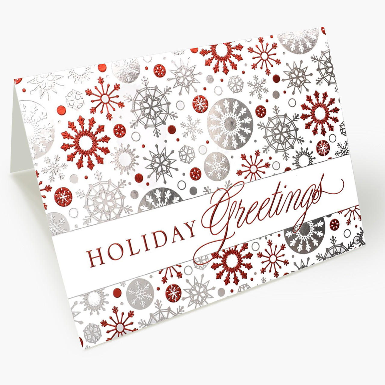 Magical Snowflakes Christmas Card