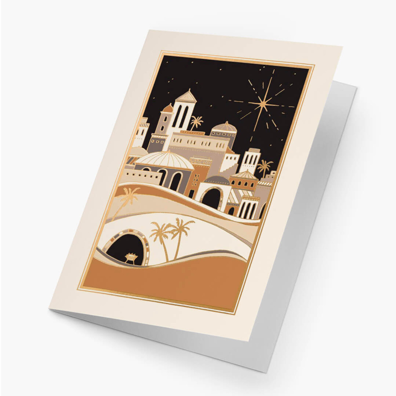 Town Of Bethlehem Christmas Card