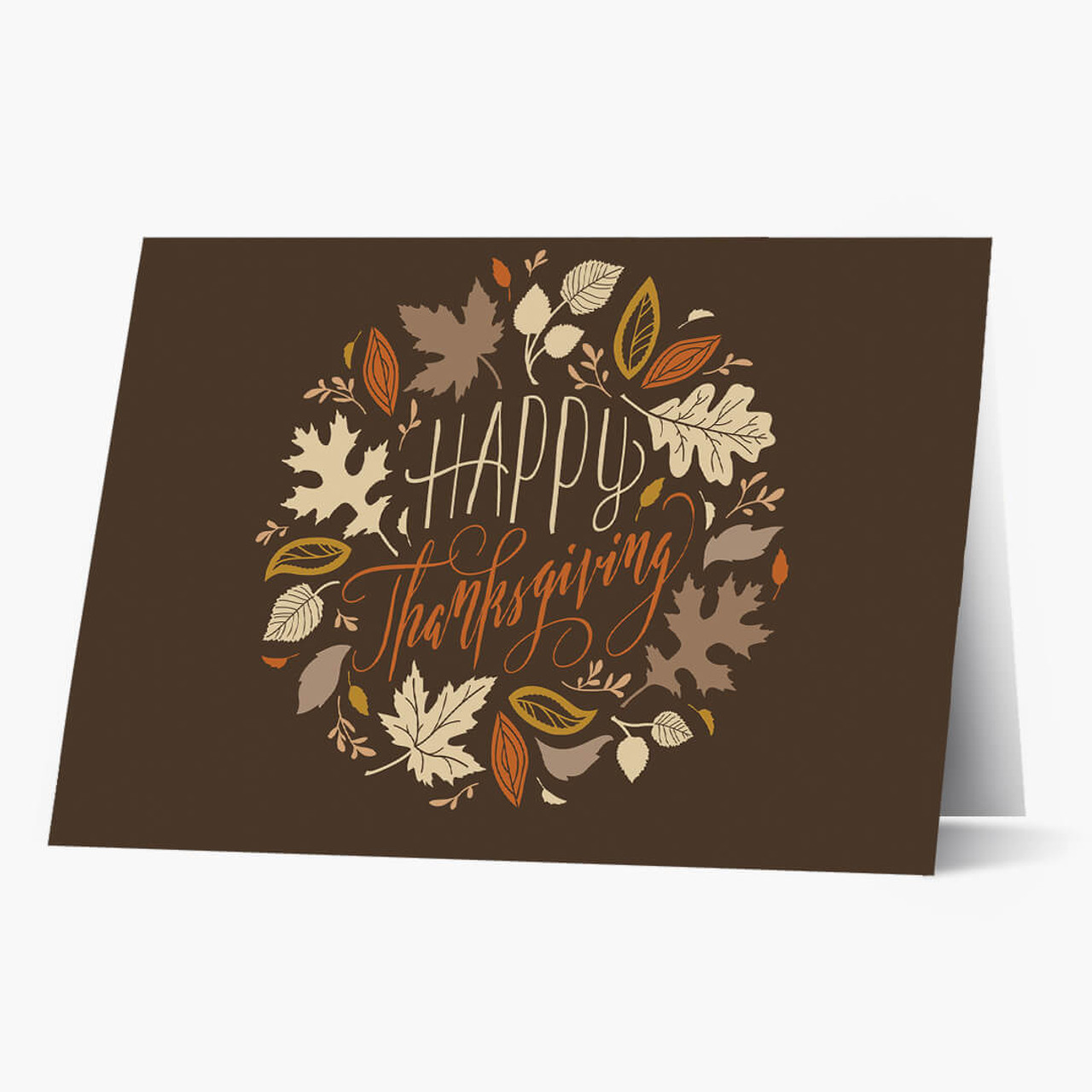 Wreath of Thanksgiving Card