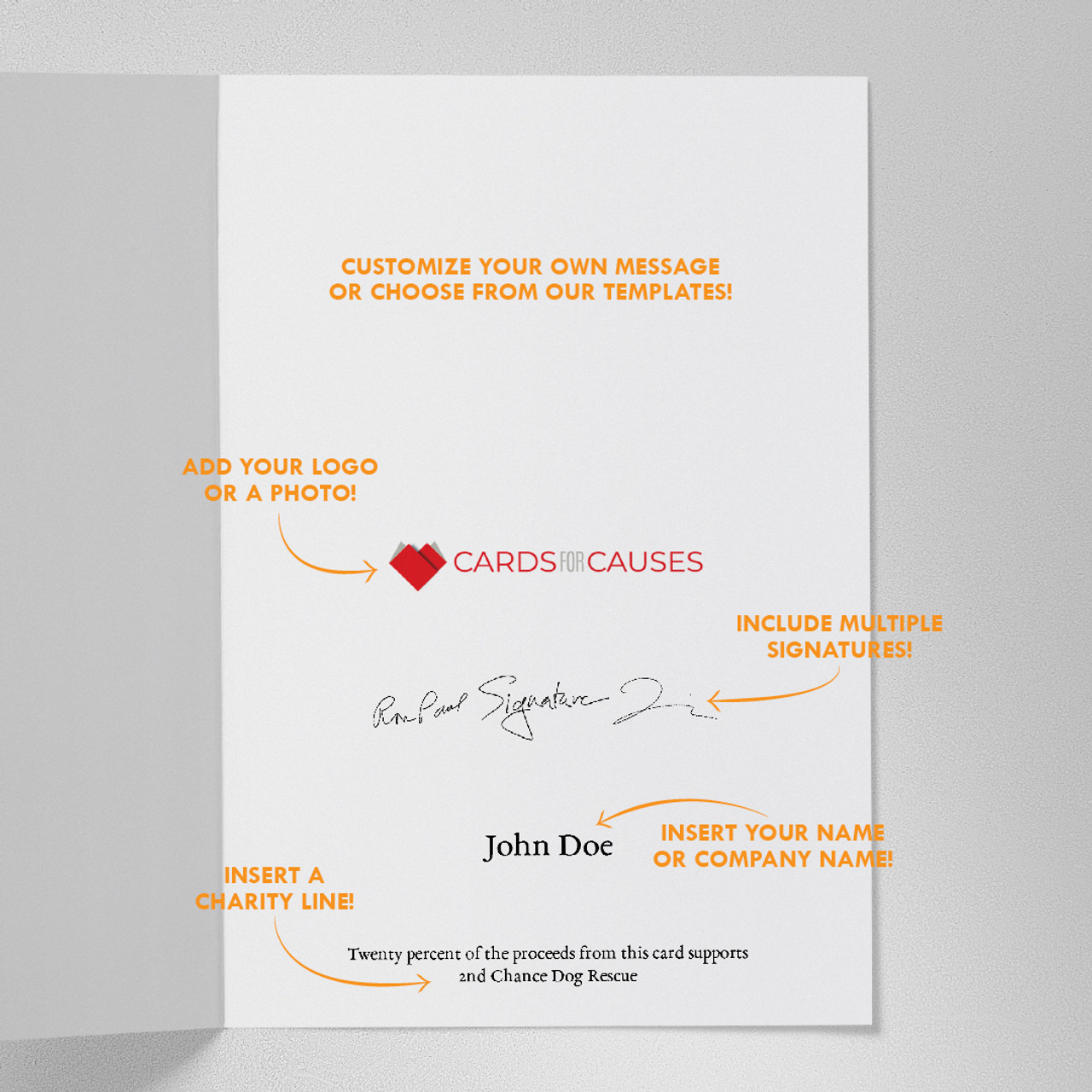 Expressing Gratitude Thanksgiving Card