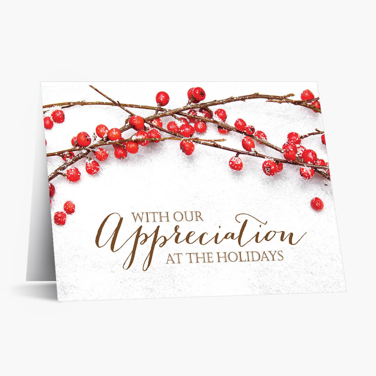 Berry Appreciation Christmas Card