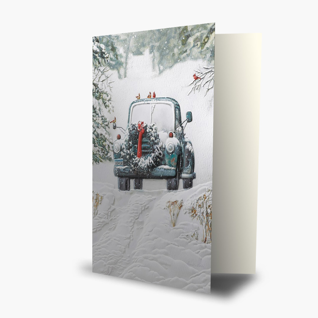 Winter Pick Up Christmas Card