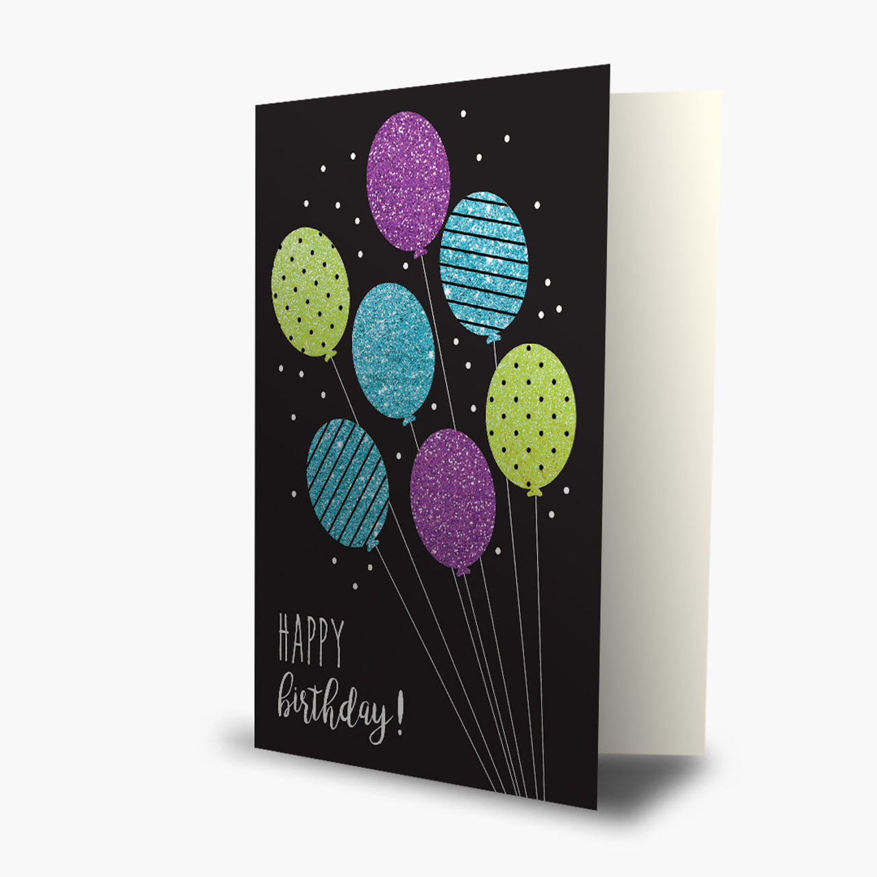 All That Glitters Birthday Card