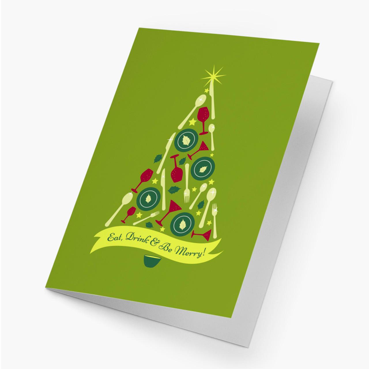 A Christmas Dinner Card