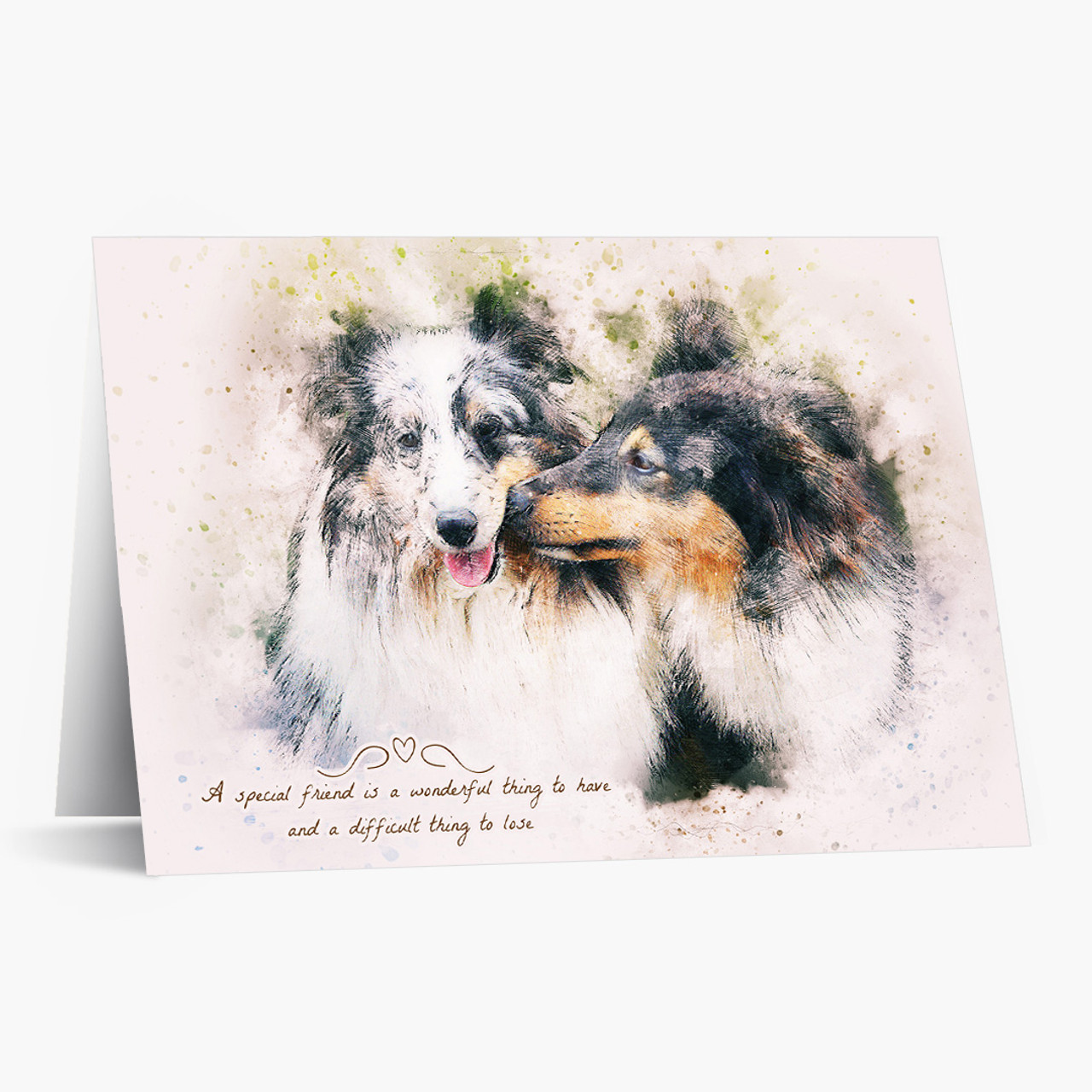 A Special Friend Pet Sympathy Card