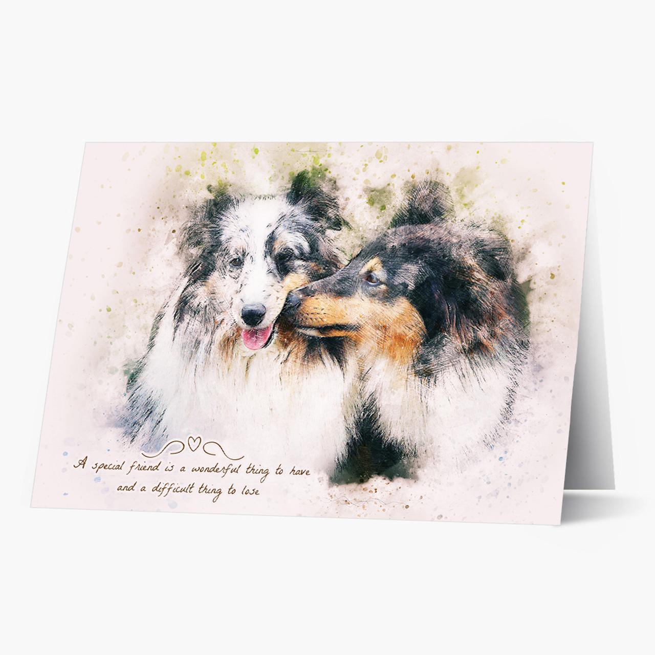 A Special Friend Pet Sympathy Card