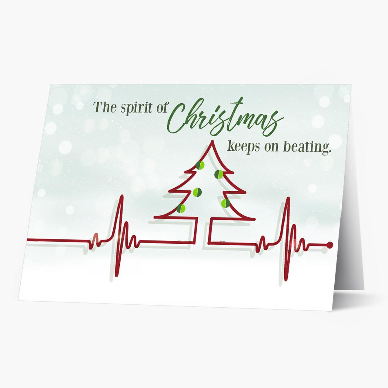 Christmas Heartbeat Card
