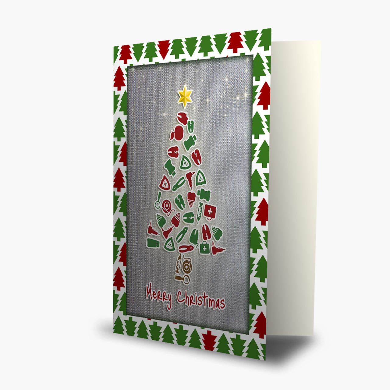 Dental Tree Christmas Card