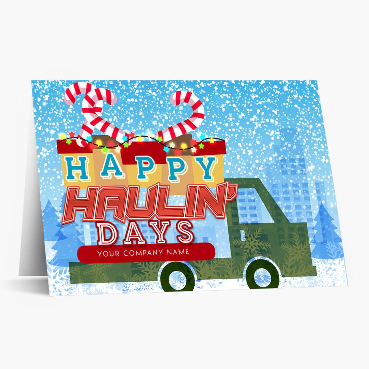 Haulin Days Christmas Card