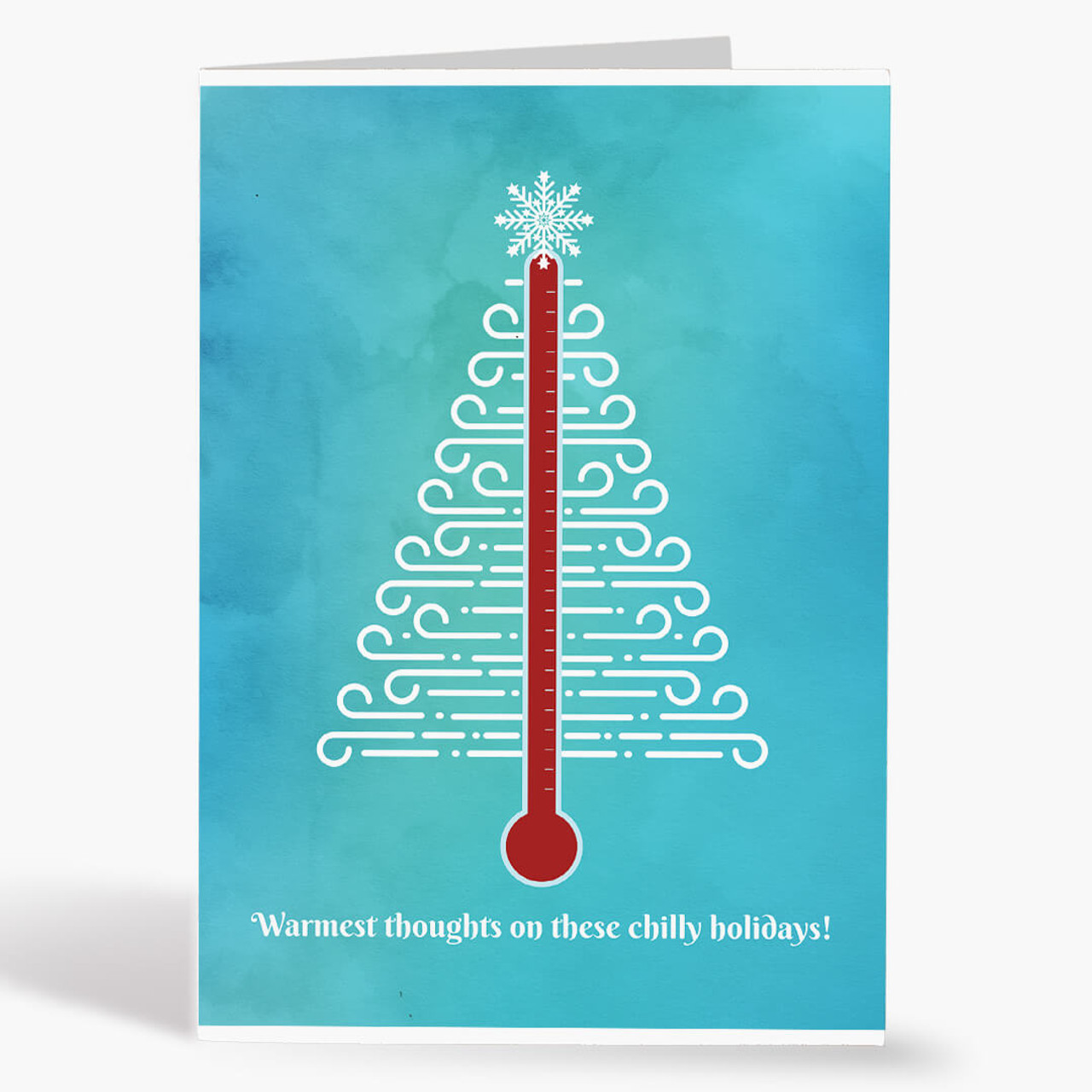 HVAC Tree Christmas Card