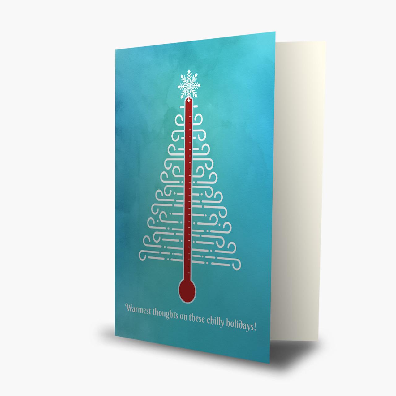 HVAC Tree Christmas Card