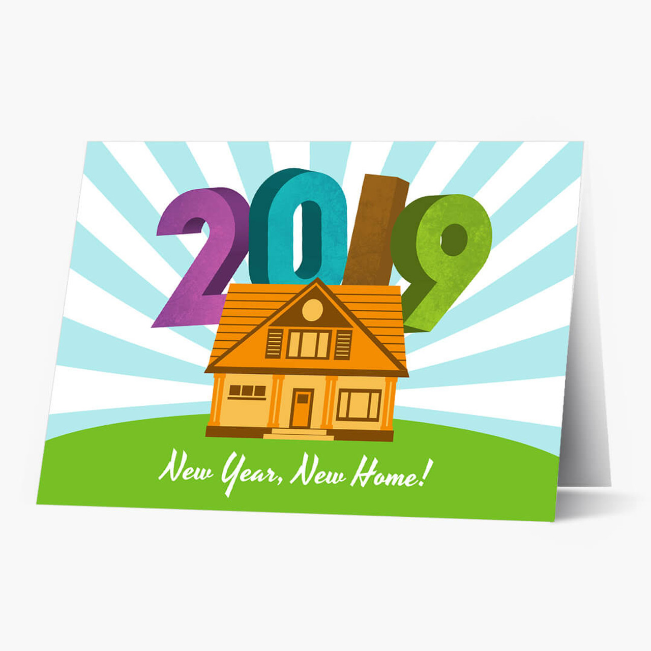 New Year New Home Card