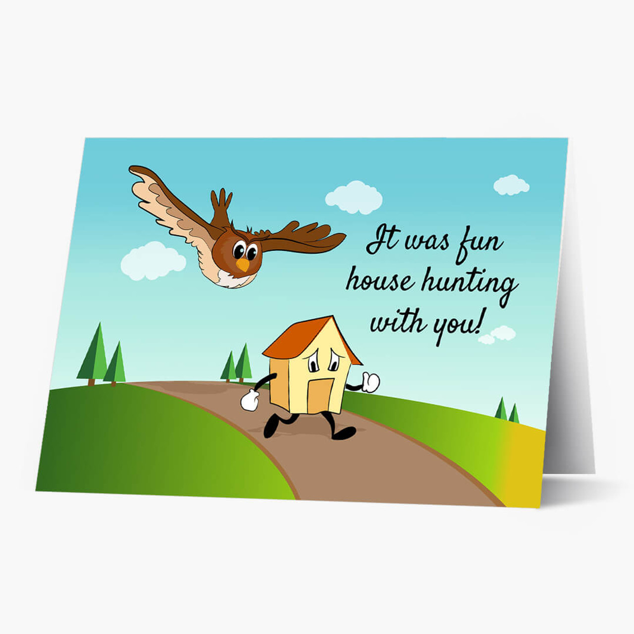 Owl House Hunting Real Estate Card