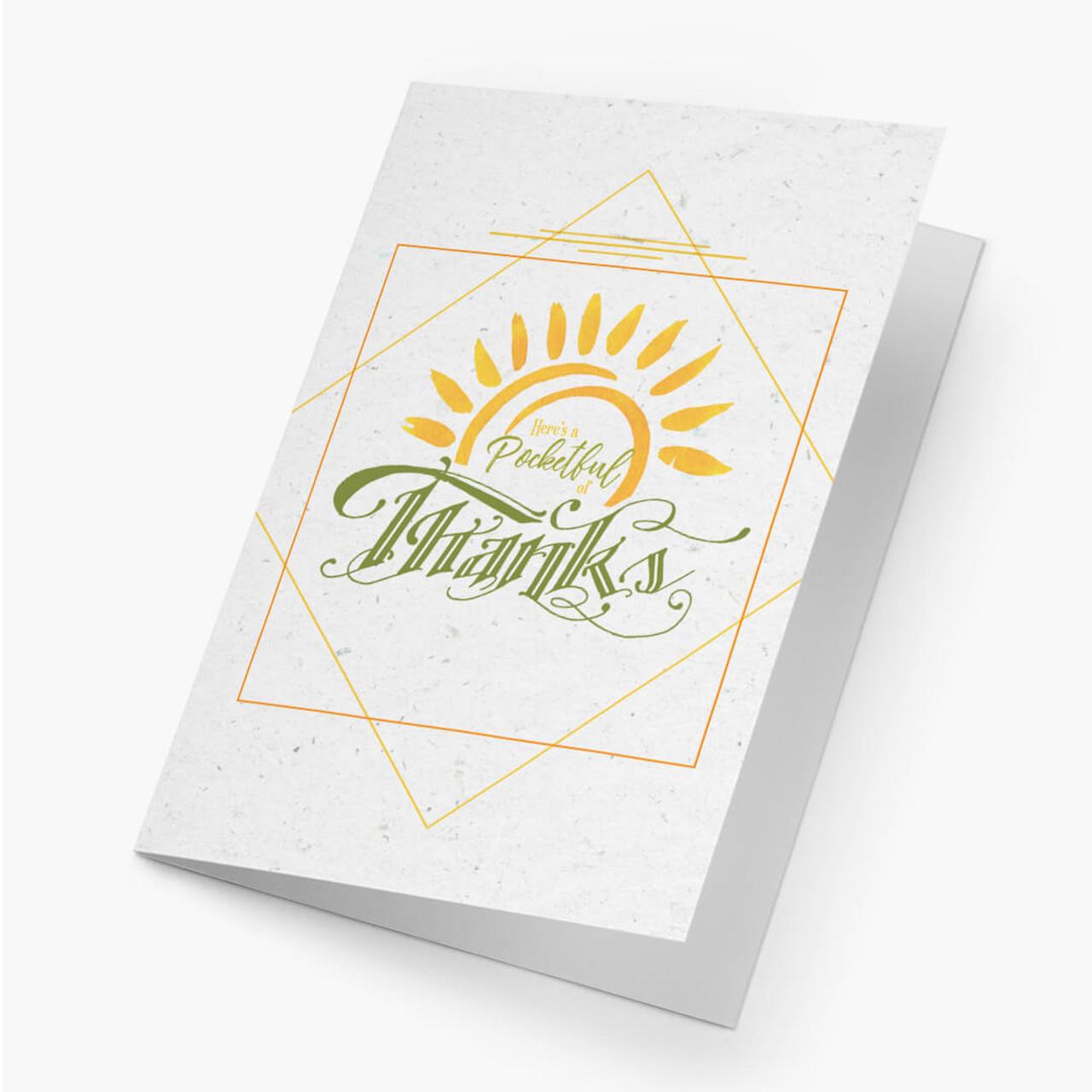 Thank You - Sunshine Card