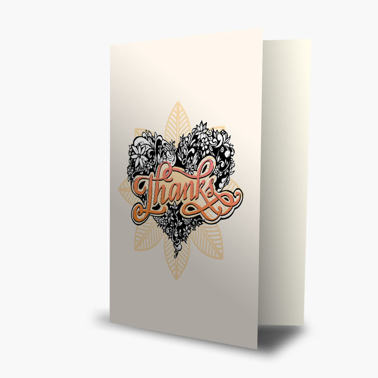Thank You - Tattooed Heart 2 Card