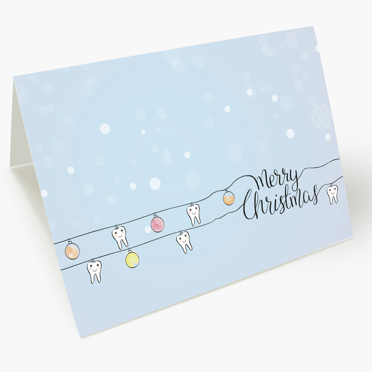 Toothy Christmas Christmas Card