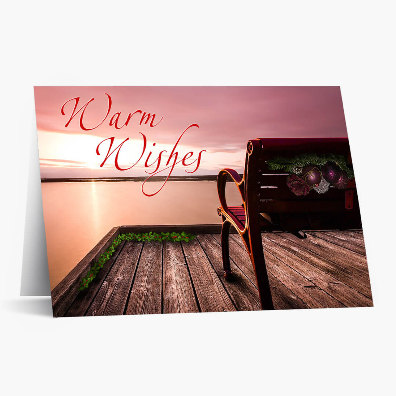 Warmest Wishes Christmas Card