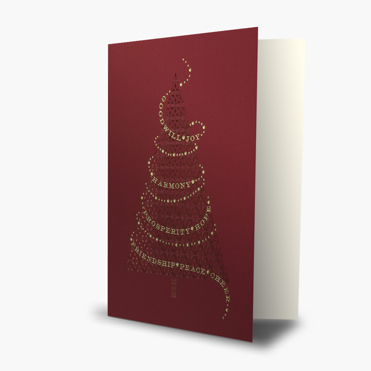 Tree of Wishes Christmas Card