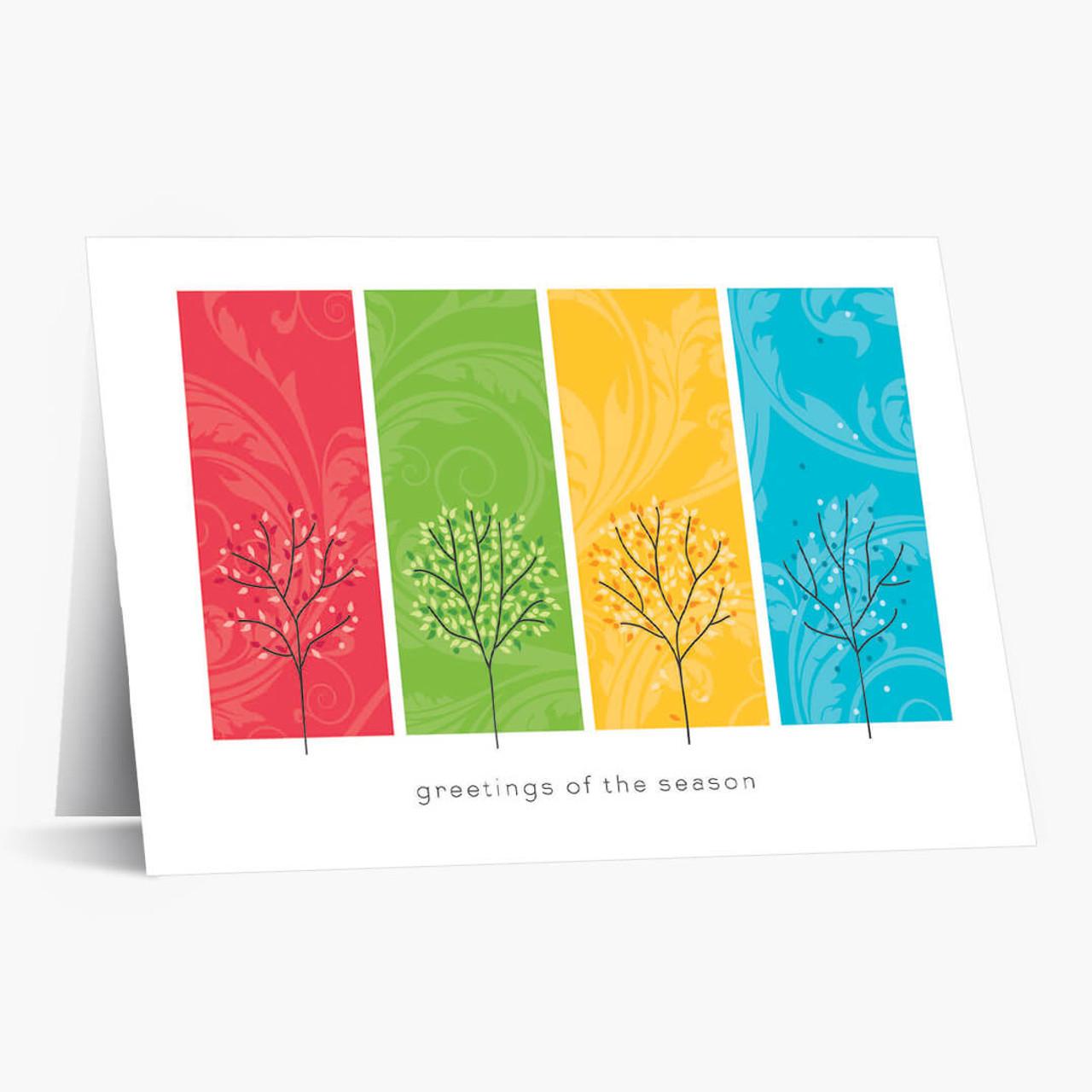 Festive Seasons Christmas Card