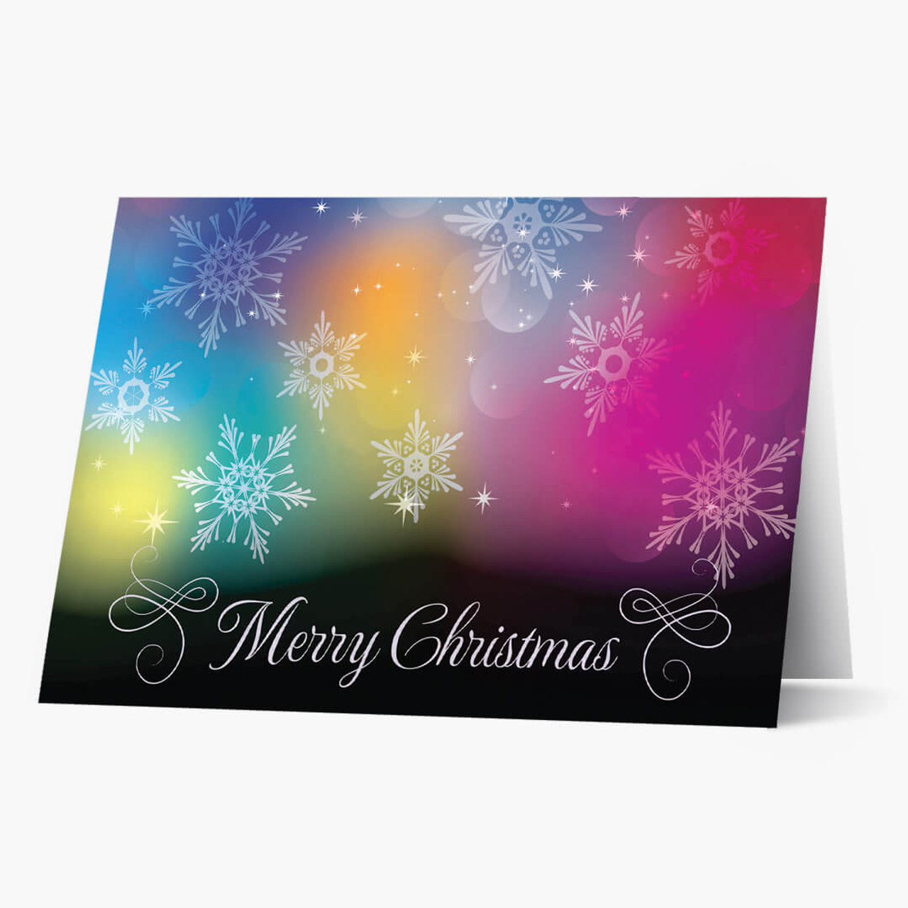 Colorful Christmas Card