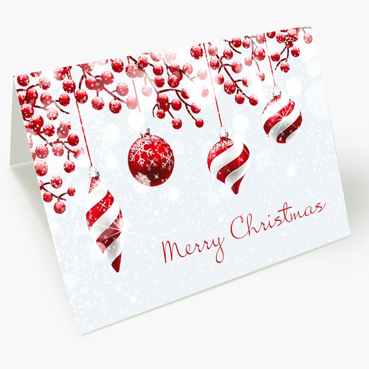 Festive Yuletide Christmas Card