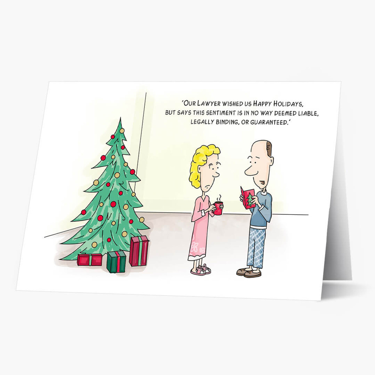 Legal Wishes Christmas Card