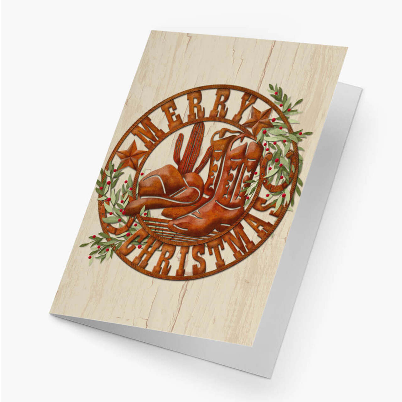 Christmas Branding Card