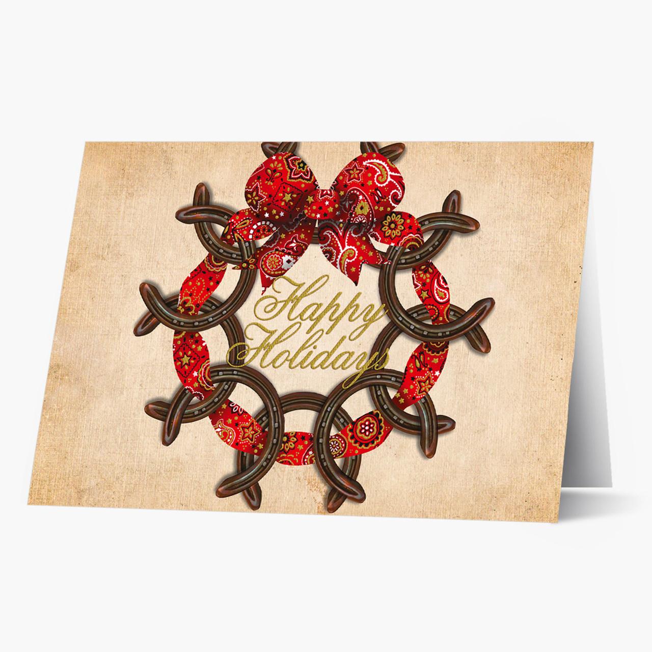 Holiday Luck Christmas Card
