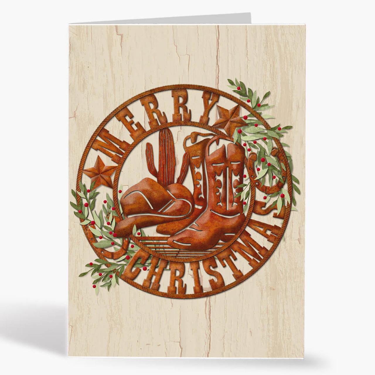 Bandana Christmas Card