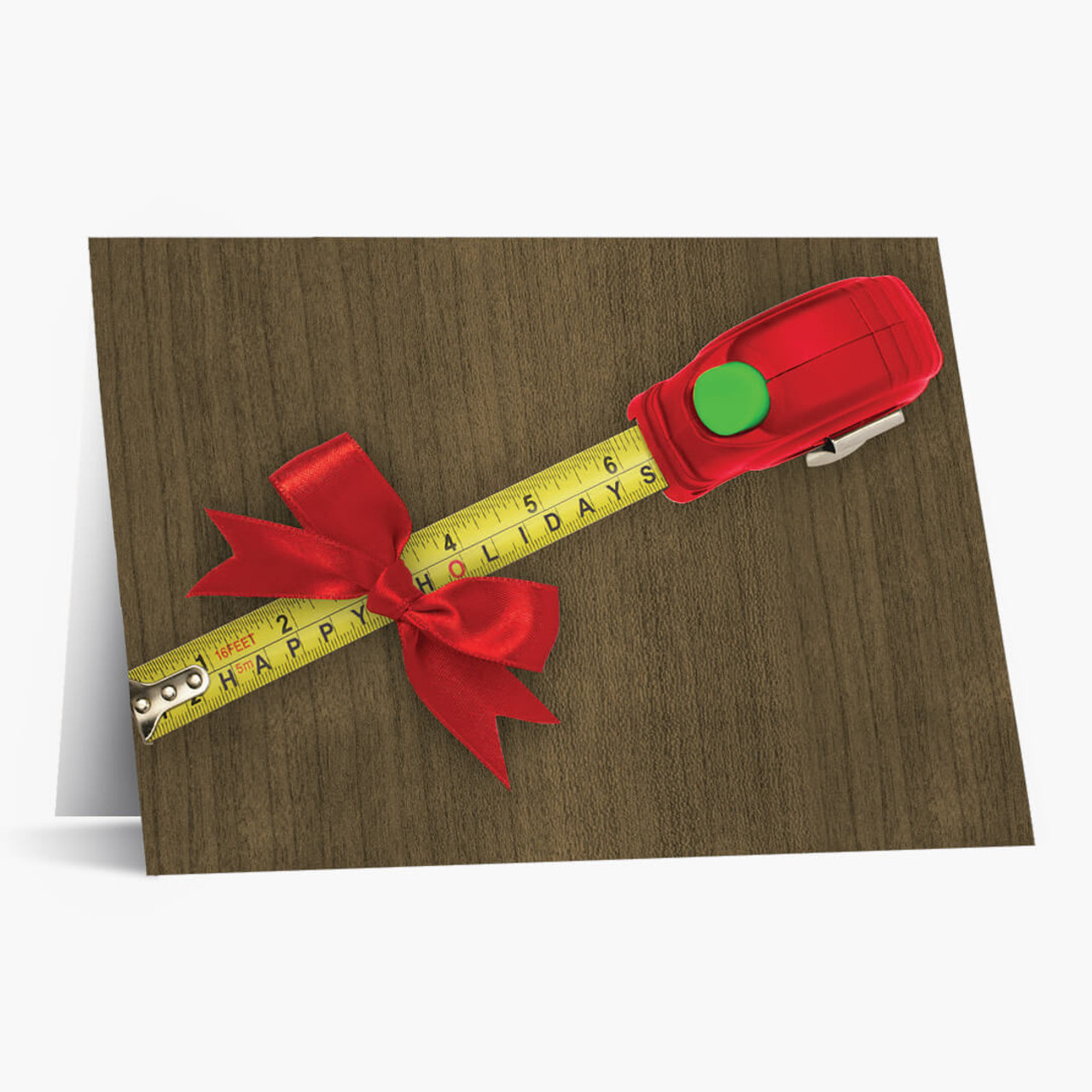 Measure Of Success Christmas Card